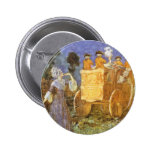 Vintage Cinderella, Fairy Godmother, Golden Coach Pins
