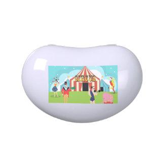 Vintage Circus Candy Tin