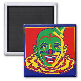 Vintage Circus Clown Magnet