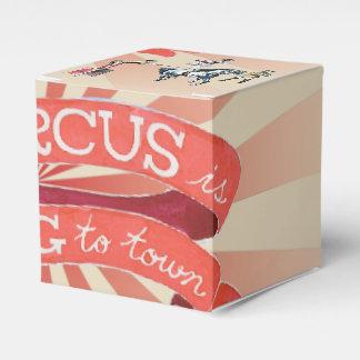 Vintage Circus Favor Box