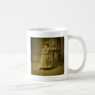 Vintage Circus Freak Midget Woman Coffee Mug