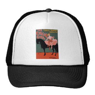 Vintage-Circus-Girl-Poster Trucker Hat