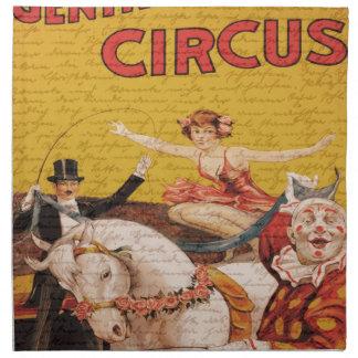 Vintage Circus Napkin