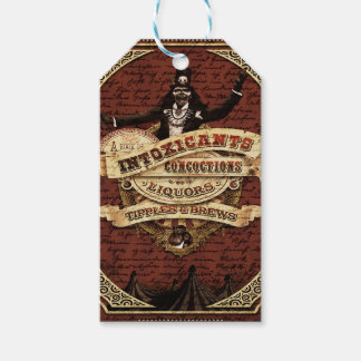 Vintage circus pack of gift tags