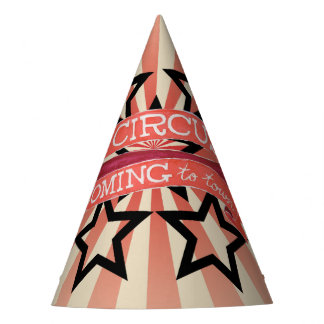 Vintage Circus Party Hat