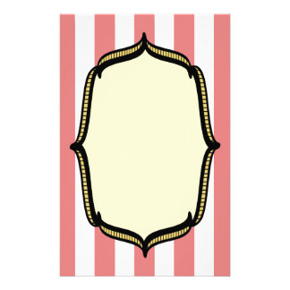 Vintage Circus Personalized Stationery