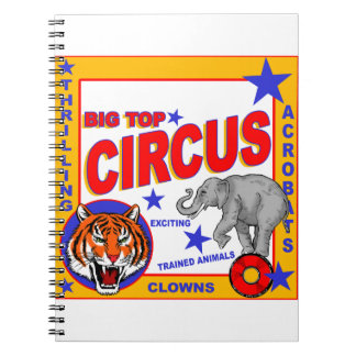 Vintage Circus Poster Notebooks