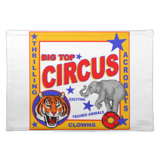 Vintage Circus Poster Placemat