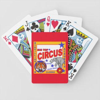 Vintage Circus Poster Poker Deck