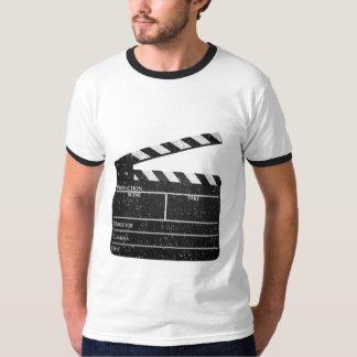 Vintage Clapperboard Filmmaker slate Movie T-shirt
