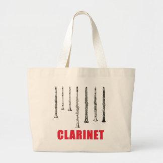 Vintage Clarinet Tote Bag