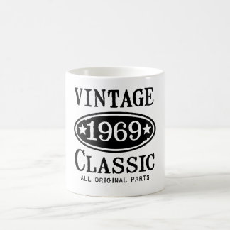 Vintage Classic 1969 gifts Mugs