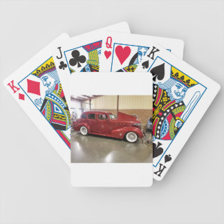 Vintage  Classic car Bicycle Playing Cards