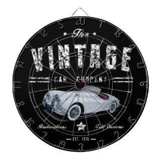 Vintage Classic Car Company Dartboard
