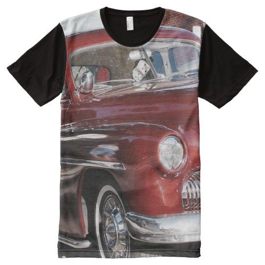 Vintage Classic Car Panel T-Shirt