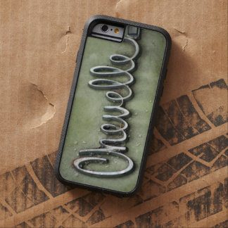 Vintage Classic Chevelle Chrome Font Tough Xtreme iPhone 6 Case