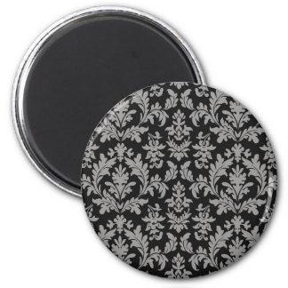 vintage classic fleur des lis wallpaper design magnet