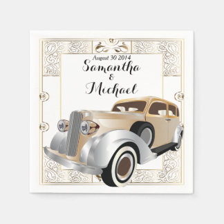 Vintage Classic Gatsby Style Napkin