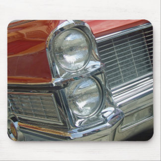 Vintage Classic Hot Rod Car Grille Mouse Pad