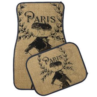 Vintage Classic Paris Lady Floor Mat