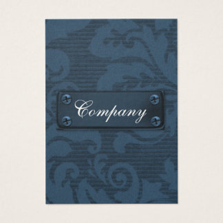 vintage classy  metal Business Cards