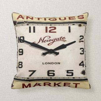 Vintage Clock Pillow