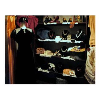 Vintage Closet Postcard