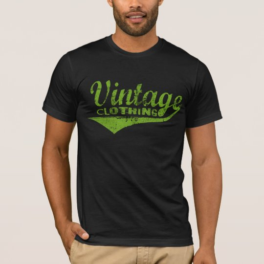 Vintage Clothing Green T-Shirt