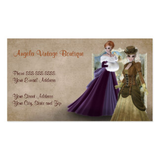 fashion boutique shop business cards and business card
