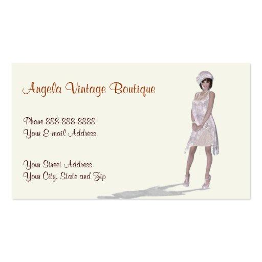 vintage clothing thrift shop boutique business zazzle