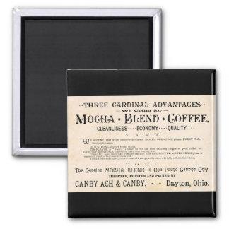 Vintage Coffee Ad Magnet