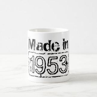 Vintage coffee mug with custom birth year | 1953