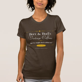 Vintage Coffins Ladies Basic T-shirt - Customized