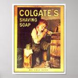 Vintage Colgate Shaving Soap Boy Shaving