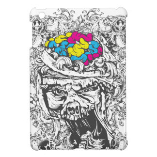 vintage color brains cover for the iPad mini
