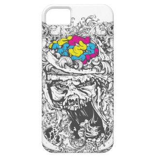 vintage color brains iPhone 5 case