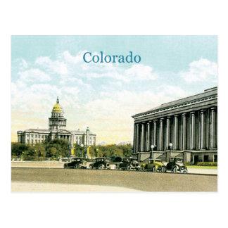 Vintage Colorado State Capitol Postcard