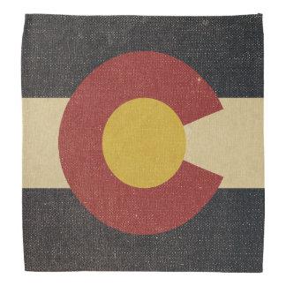 Vintage Colorado State Flag Bandana