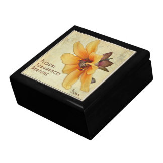 Vintage Colored Perfume Box Art - Decorative Box