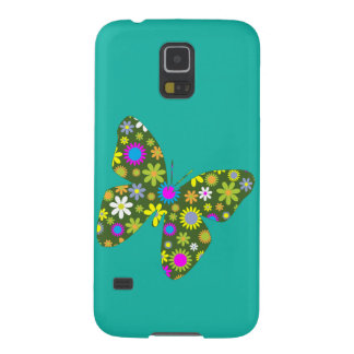 Vintage colorful butterfly galaxy s5 covers