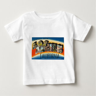Vintage Colorful Greetings From Los Angeles Baby T-Shirt