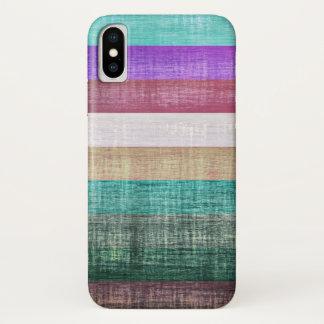 Vintage Colorful Stripes Pattern Case-Mate iPhone Case