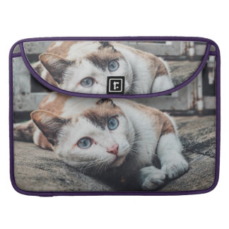 Vintage Colors Cat Sleeves For MacBook Pro