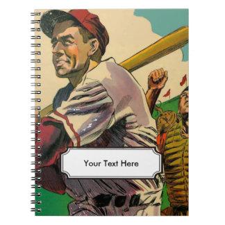 Vintage Comic of Batter Notebooks