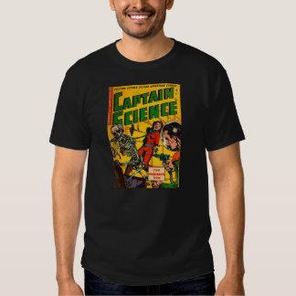 Vintage Comics: Captain Science T-shirts