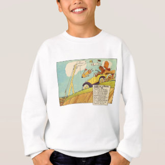 Vintage Comics - Two Braking Systems Required Sweatshirt