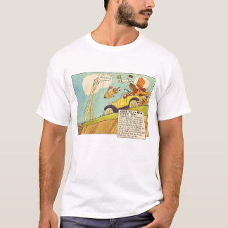Vintage Comics - Two Braking Systems Required T-Shirt