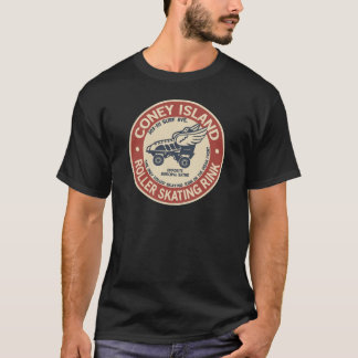 Vintage Coney Island Roller Staking Rink T-Shirt