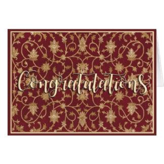 Vintage Congratulations Card