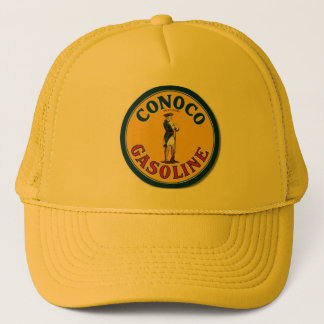 """Vintage Conoco Gas Sign"" Trucker Hat"